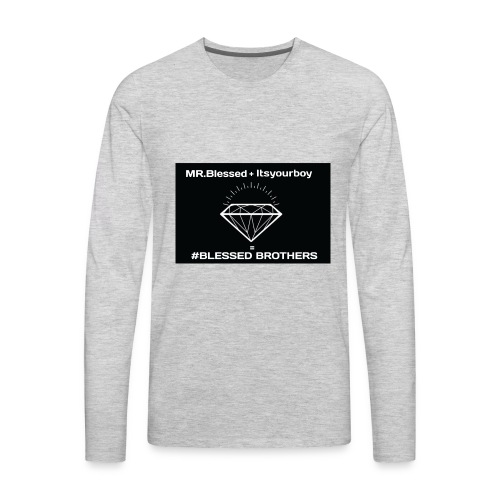 Brothers - Men's Premium Long Sleeve T-Shirt