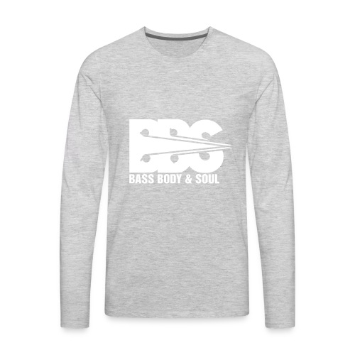 Bass Body and Soul logo - Men's Premium Long Sleeve T-Shirt