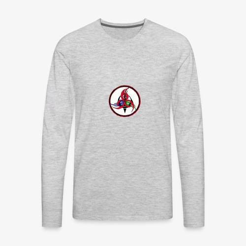 Logo of company - Men's Premium Long Sleeve T-Shirt