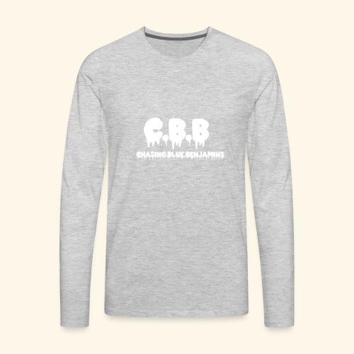 Chasing Blue Benjis - Men's Premium Long Sleeve T-Shirt