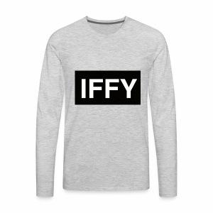 """IFFY"" Nickname - Men's Premium Long Sleeve T-Shirt"