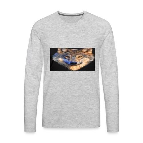 wolf merch - Men's Premium Long Sleeve T-Shirt