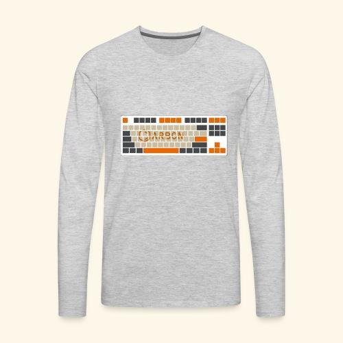 Carbon - Men's Premium Long Sleeve T-Shirt