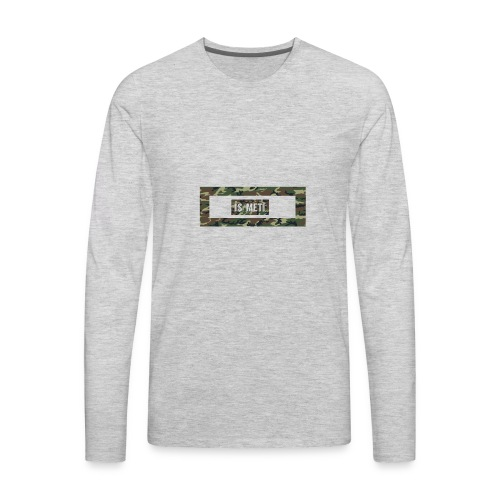 is/meti3 - Men's Premium Long Sleeve T-Shirt