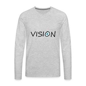 vison - Men's Premium Long Sleeve T-Shirt