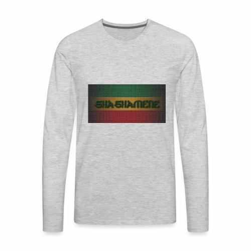 SHASHAMENE RECT10MB - Men's Premium Long Sleeve T-Shirt
