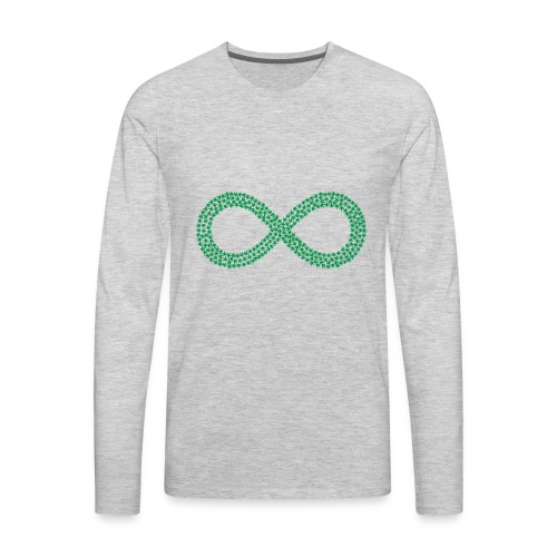 Marijuana Infinity California Love Hemp 420 Shirt - Men's Premium Long Sleeve T-Shirt