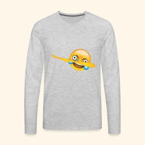 Commit suicide please - Men's Premium Long Sleeve T-Shirt