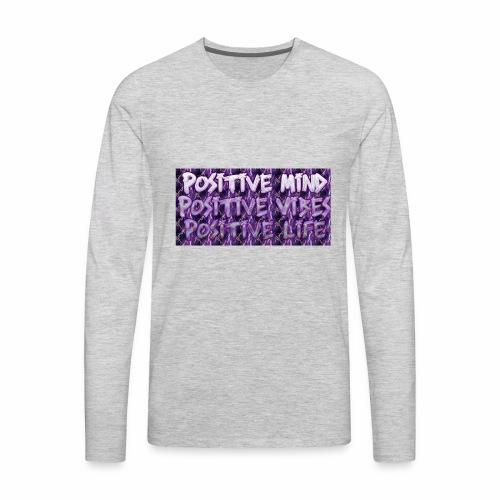 Positive - Men's Premium Long Sleeve T-Shirt
