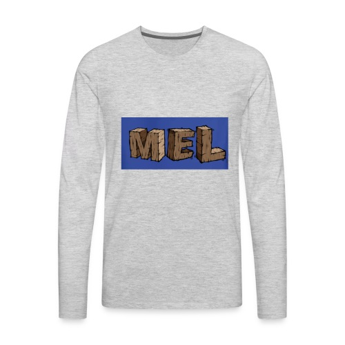 MEL MERCH - Men's Premium Long Sleeve T-Shirt