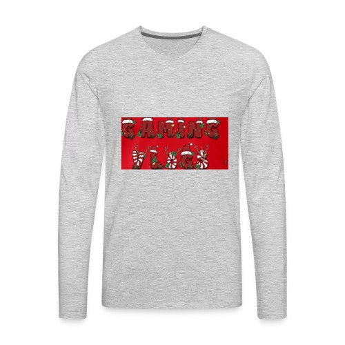 gaming vlogs chrismas merck - Men's Premium Long Sleeve T-Shirt