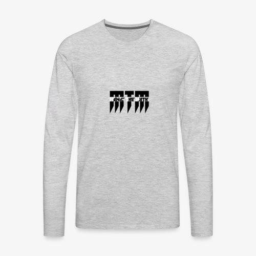MTM Manic The Myth logo - Men's Premium Long Sleeve T-Shirt