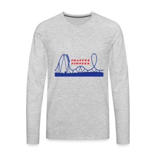 Coaster Pioneer Logo Merch - Men's Premium Long Sleeve T-Shirt