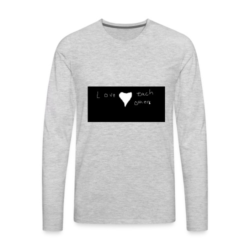 LOVE PEOPLE - Men's Premium Long Sleeve T-Shirt