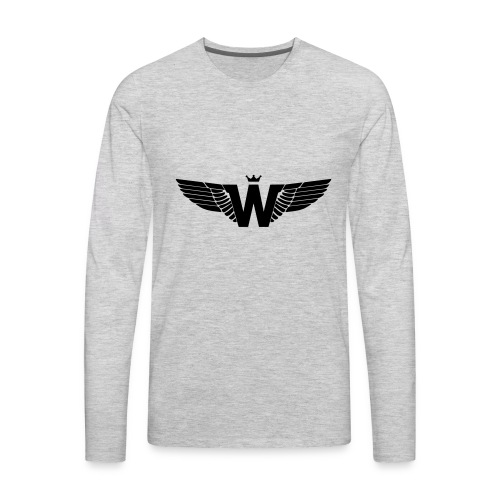 Wade Clothing Logo - Men's Premium Long Sleeve T-Shirt