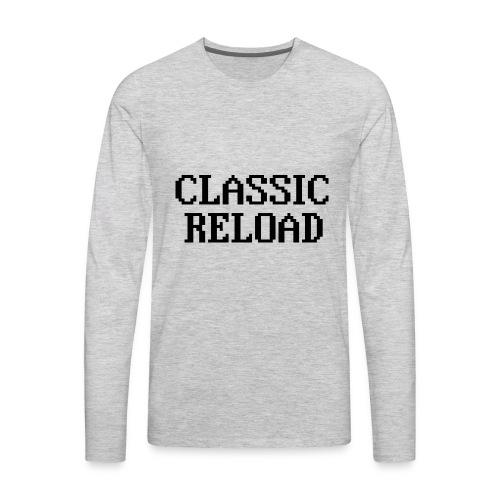 ClassicReload Classic Black - Men's Premium Long Sleeve T-Shirt