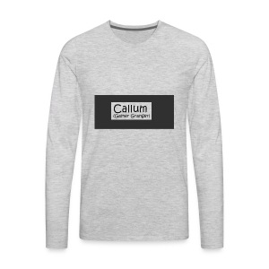Callum's Custom Merch!!!!! - Men's Premium Long Sleeve T-Shirt
