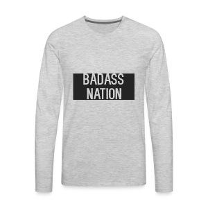 BadassNation - Men's Premium Long Sleeve T-Shirt