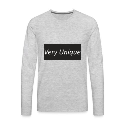 Very Unique - Men's Premium Long Sleeve T-Shirt