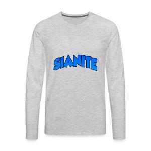 SIANITE SHIRT LOGO - Men's Premium Long Sleeve T-Shirt