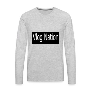 Vlog Nation - Men's Premium Long Sleeve T-Shirt
