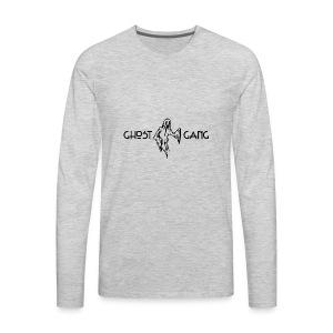 GhostGang Kronic Logo - Men's Premium Long Sleeve T-Shirt