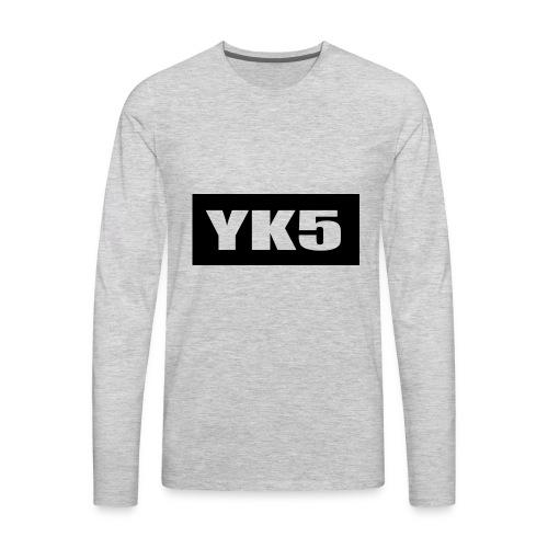 yk5shirtlogo - Men's Premium Long Sleeve T-Shirt