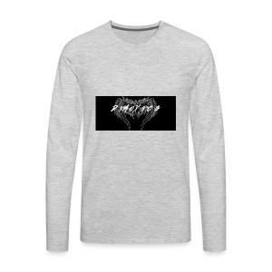 D3MOX3CG Logo T-Shirt - Men's Premium Long Sleeve T-Shirt