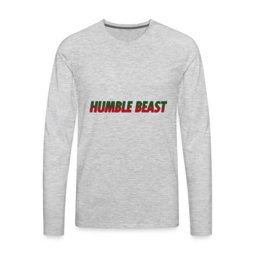 HUMBLE BEAST - Men's Premium Long Sleeve T-Shirt