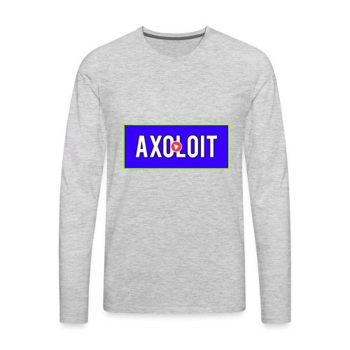 AxolOit - Men's Premium Long Sleeve T-Shirt