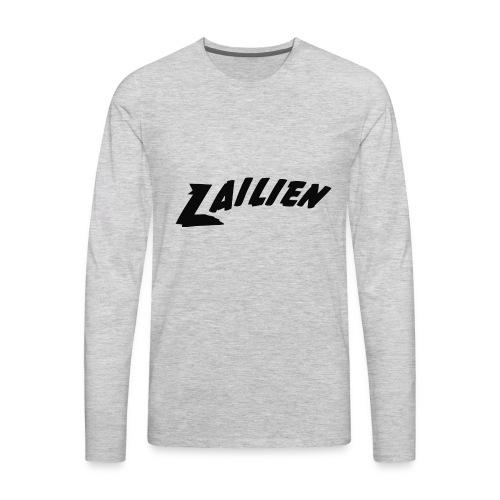 LOGOTEXT_A_Lailien - Men's Premium Long Sleeve T-Shirt