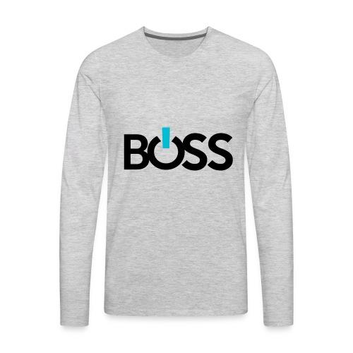 Boss Logo CMYK - Men's Premium Long Sleeve T-Shirt