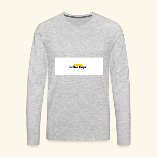 Butter Cups Merch - Men's Premium Long Sleeve T-Shirt