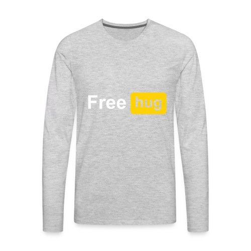 Free HUG - Men's Premium Long Sleeve T-Shirt