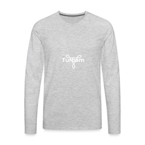 Turbam logo - Men's Premium Long Sleeve T-Shirt