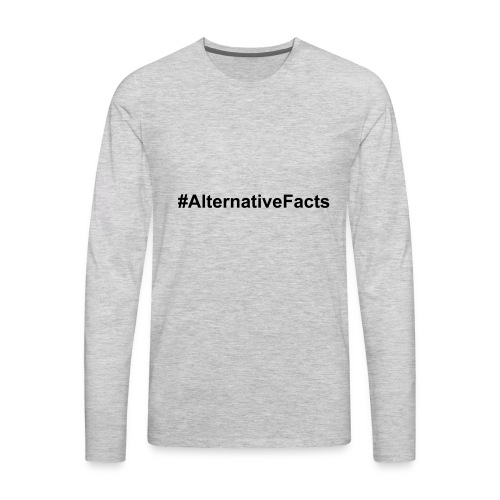 alternativefacts - Men's Premium Long Sleeve T-Shirt