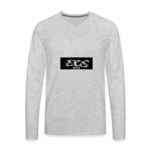 EOS clothing // NEW Brush logo - Men's Premium Long Sleeve T-Shirt