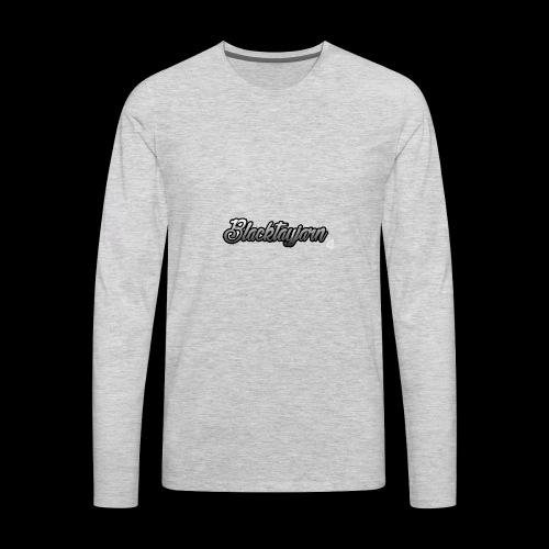 BlackTayjarn Merchandise - Men's Premium Long Sleeve T-Shirt