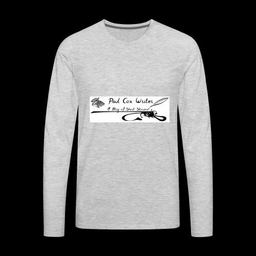 My Blogs Logo - Men's Premium Long Sleeve T-Shirt