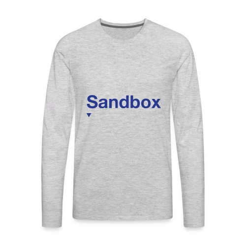 sandbox merch - Men's Premium Long Sleeve T-Shirt