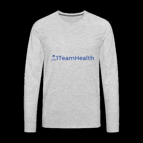 1TeamHealth Simple - Men's Premium Long Sleeve T-Shirt