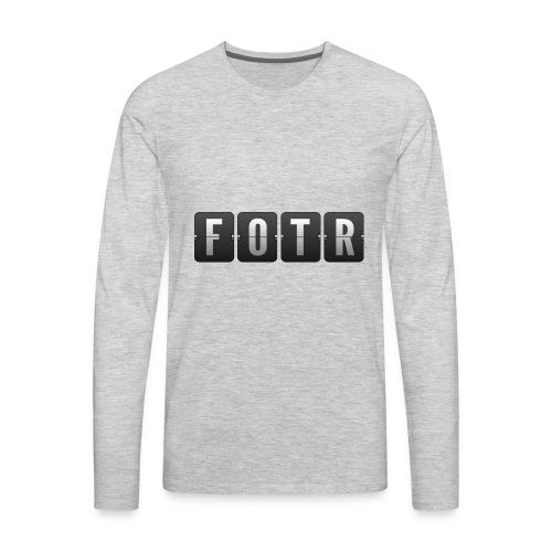 FOTRflipclock - Men's Premium Long Sleeve T-Shirt