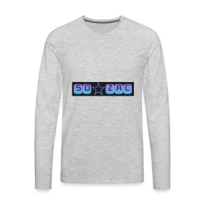 So zac - Men's Premium Long Sleeve T-Shirt