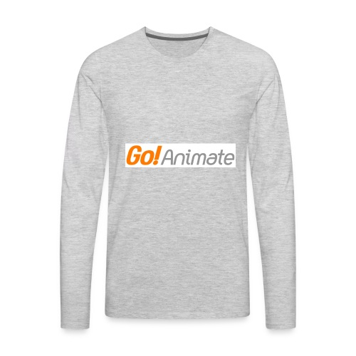 GoAnimate Company Logo - Men's Premium Long Sleeve T-Shirt