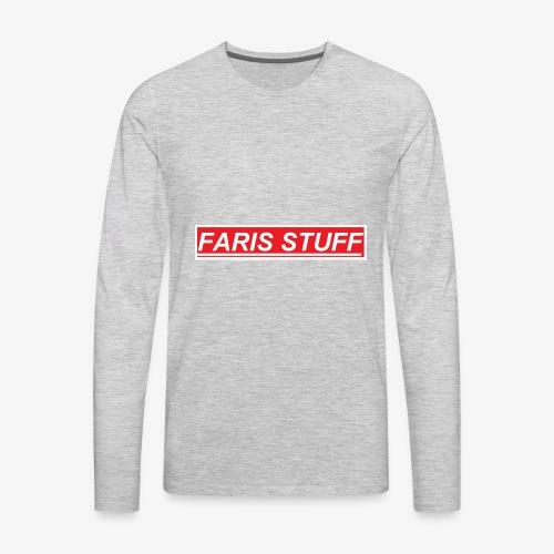 faris stuf - Men's Premium Long Sleeve T-Shirt