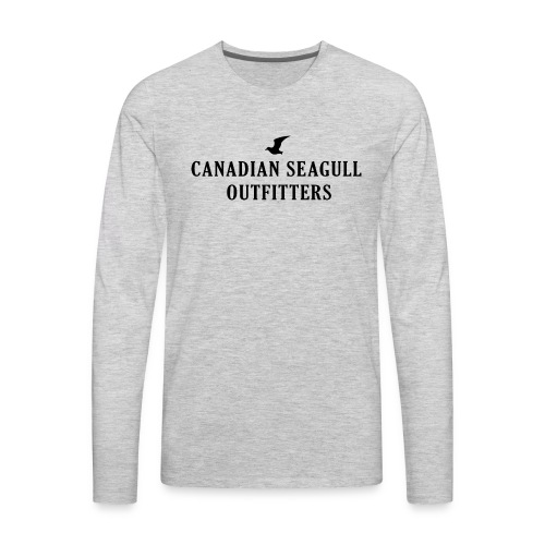 Canadian Seagull Outfitters - Men's Premium Long Sleeve T-Shirt
