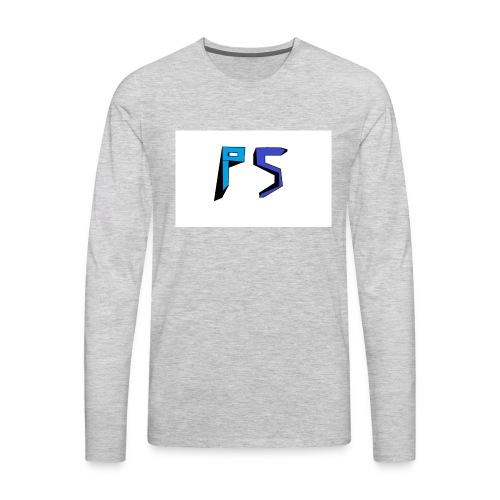 PuggyShortz Logo - Men's Premium Long Sleeve T-Shirt