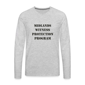 Midlands Witness Protection Program - Men's Premium Long Sleeve T-Shirt