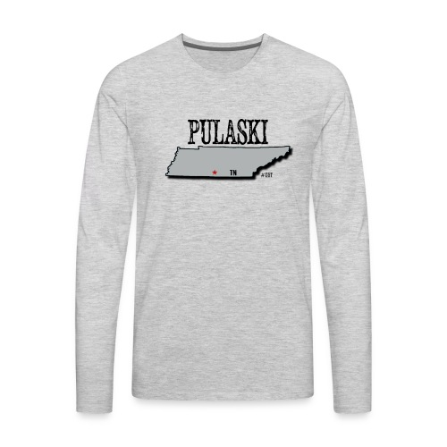 Pulaski - Men's Premium Long Sleeve T-Shirt