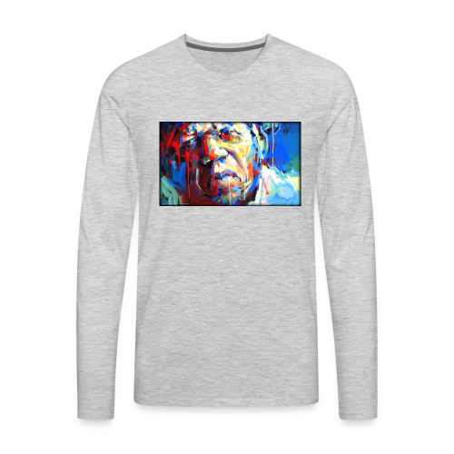 Keith B. Still image from Twitter - Men's Premium Long Sleeve T-Shirt
